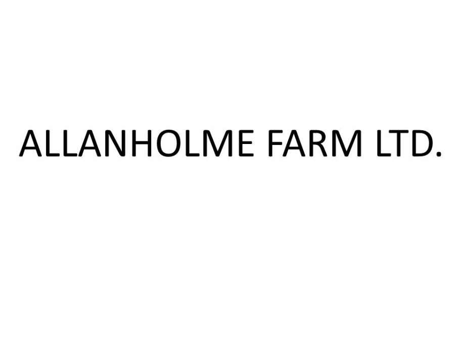 ALLANHOLME Farm Ltd.